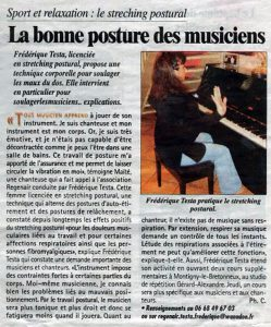 stretching-postural - posture pour les musiciens