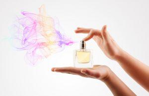 Pulvérisation de parfum