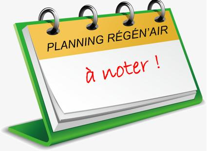 Planning Régén'air_à noter